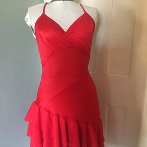 89ef983811 Dresses - Red Latin   Rhythm Salsa ballroom dress